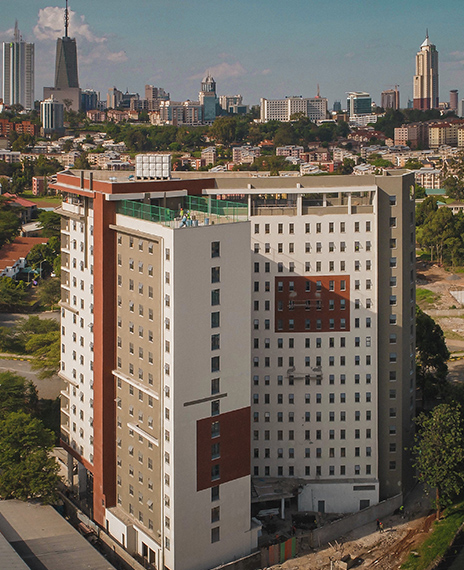 Qwetu student residences - Wilson View